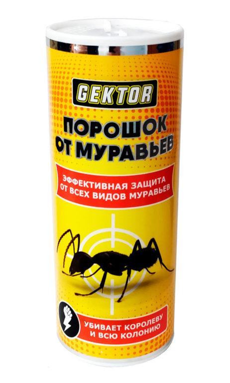 Порошок от муравьев Gektor (Гектор) - убивает королеву и всю колонию