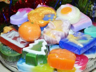 Красивое мыло как подарок
