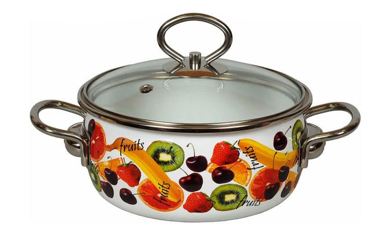 Эмалированная посуда для индукционных плит