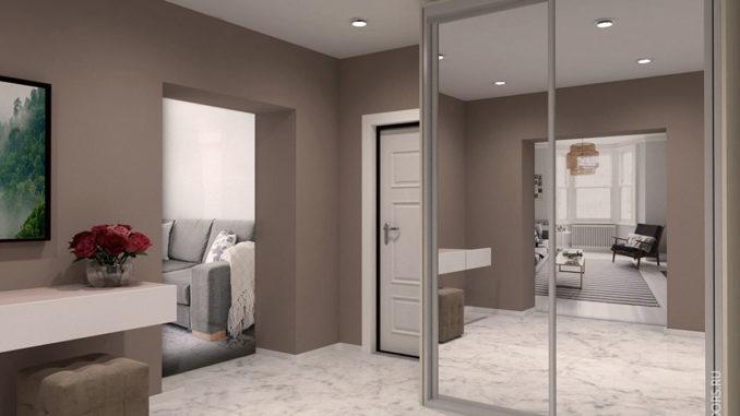 Шкаф купе в спальне от компании CupeDoorsс