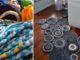 как сделать Сделать своими руками коврик из старых вещей...