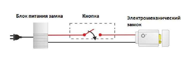 Как подключить электрозамок на калитку