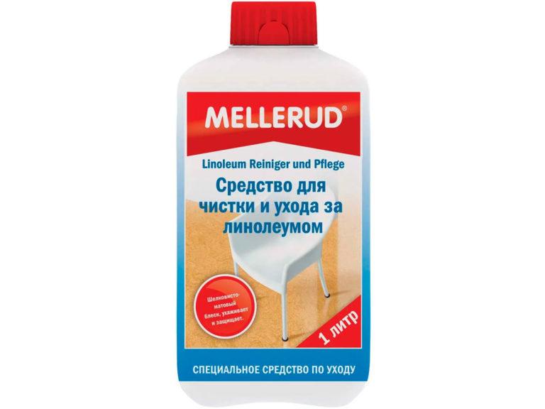 Средство фирмы Mellerud для чистки и ухода за линолеумом