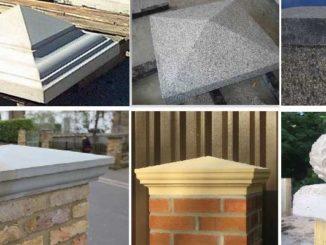 формы крышек из бетона для столбов