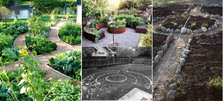 Идеи красивой планировки огорода