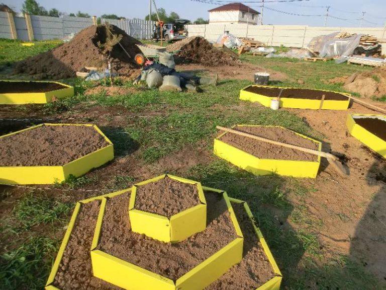 Можно применять разные техники выращивания на одном огороде