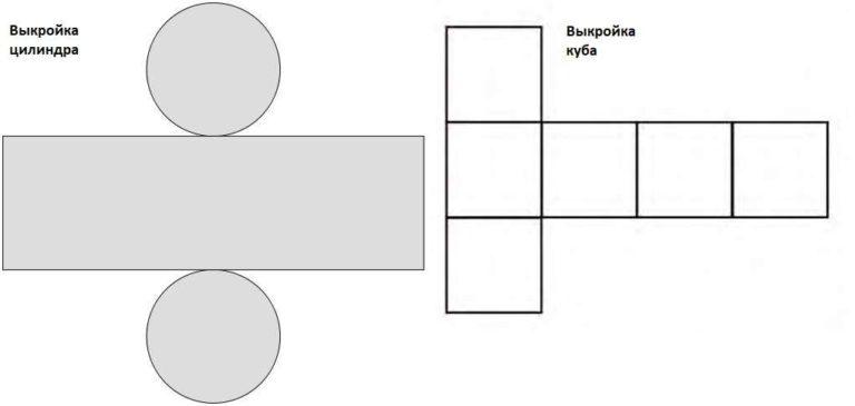 Как сшить мягки пуф: схемы