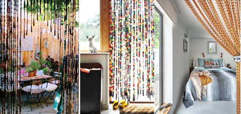 Декоративные дверные портьеры-висюльки