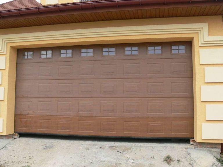 Какой должна быть ширина ворот в гараже на два авто